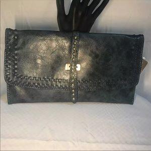 Handbags - NWT Blue Marble Clutch